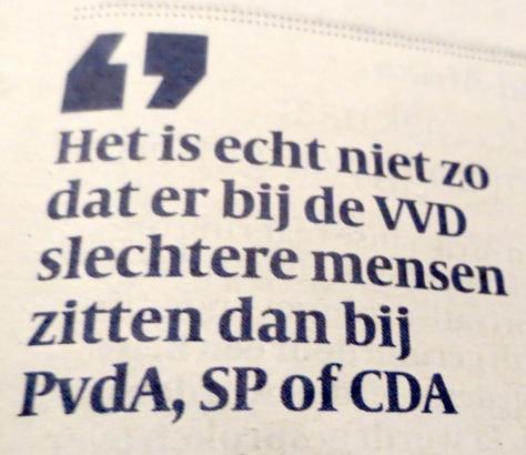 VVD pakt corruptie aan in eigen gelederen