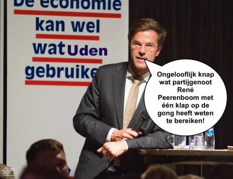 Premier Rutte vol bewondering