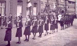 uden, processie 1938