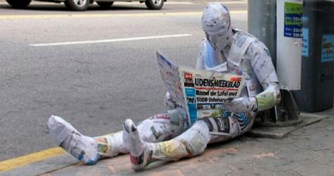 Oude krant-Udens wekblad
