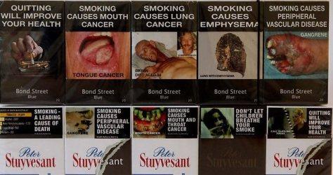 sigarettenpakjes
