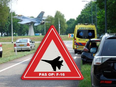 Pas op F-16