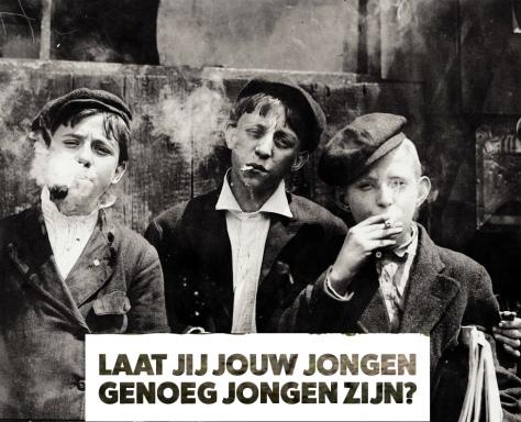 rokende kinderen