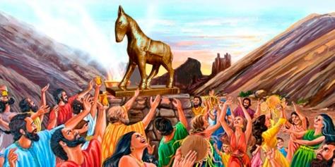Gouden Pony