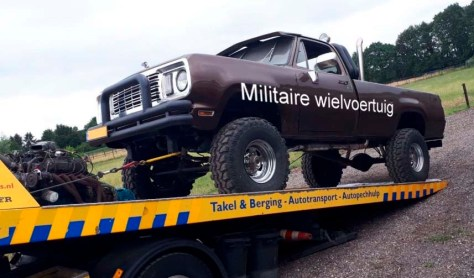 militaire wielvoertuig