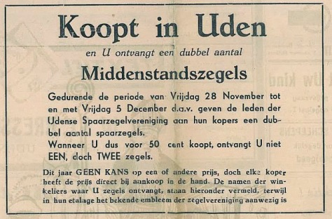 Udensche Courant november 1952