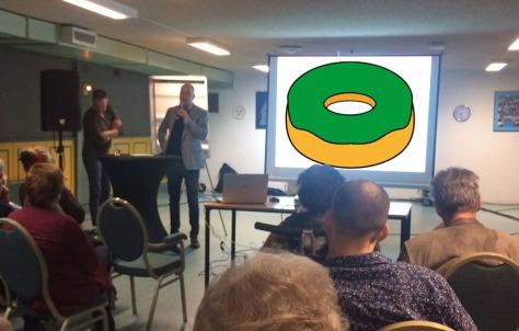 presentatie donut