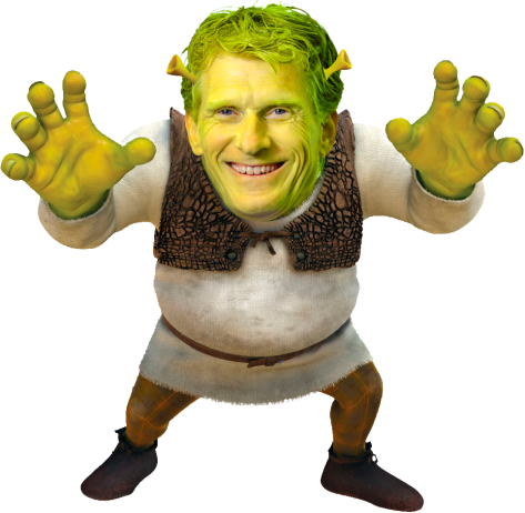 Shrek van de Maashorst