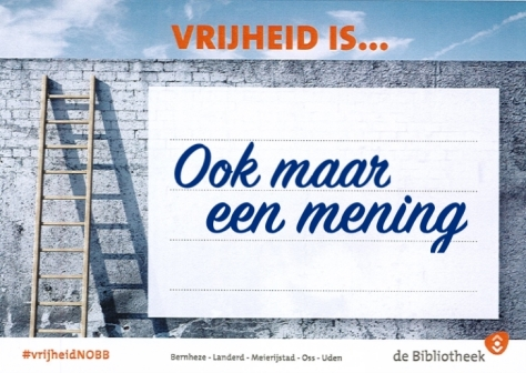 vrijheid is...