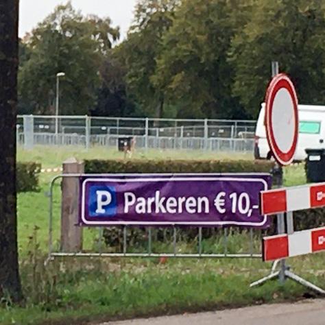Parkeren €10