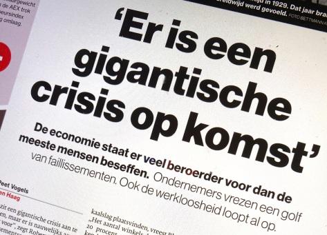 gigantische crisis