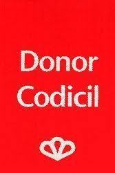 Donorcodicil